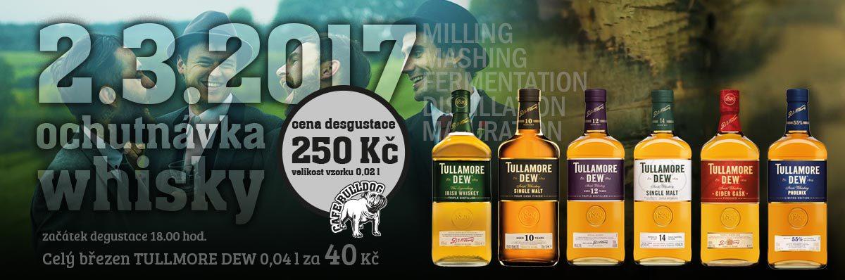 Cafe Bulldog Ochutnávka Whisky