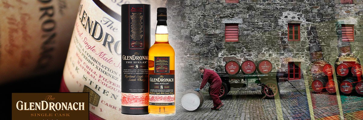 Cafe Bulldog The Glendronach Hielan 46%