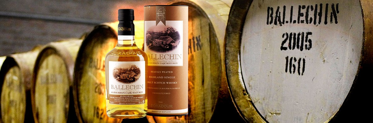 Ballechin 6 Bourbon Cask 46 % 50PPM