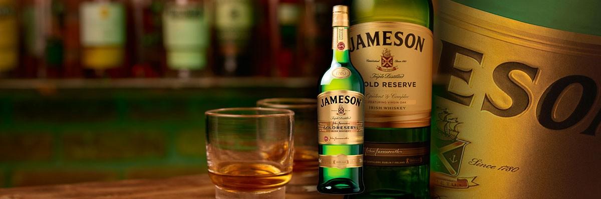Jameson Gold 40 %