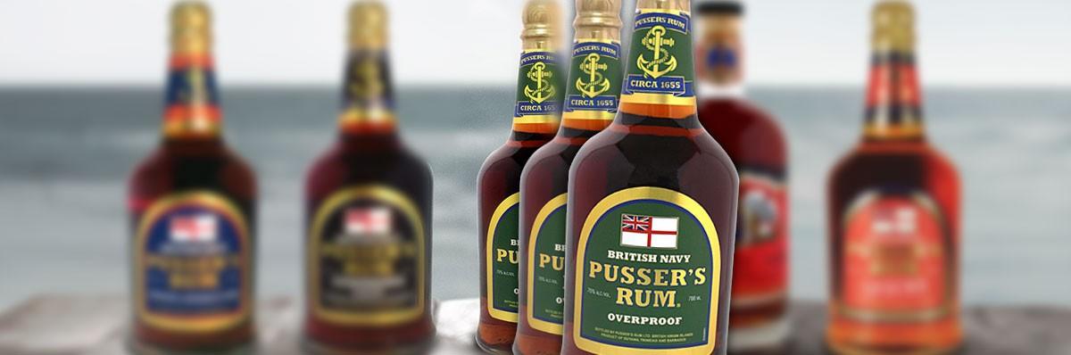 Cafe Bulldog Pussers Rum Overproof 75 %