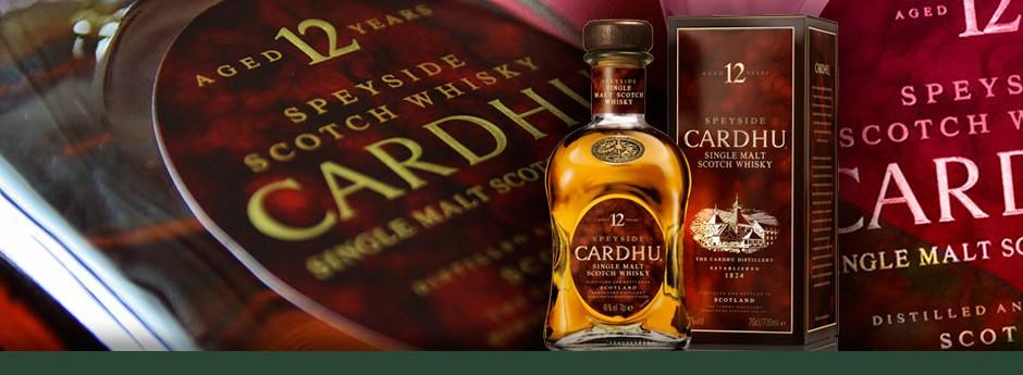 Cardhu 12 years 40%