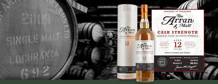 The Arran Cask Strength 12 Years 54