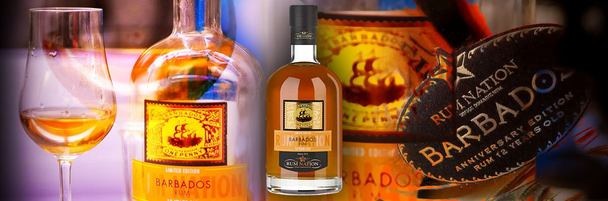 RUM NATION BARBADOS 10 Y.O.