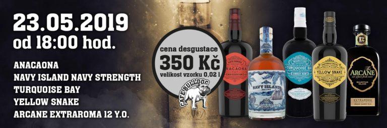 Cafe Bulldog ochutnávka rumu 23.05.2019-Web
