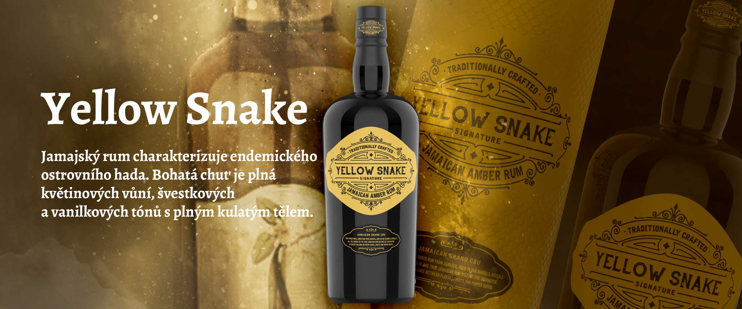 Cafe Bulldog Rum YELLOW SNAKE