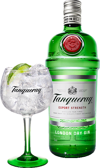 Cafe Bulldog Tanqueray Gin