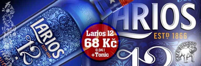 Cafe Bulldog - Larios 12 Premium gin