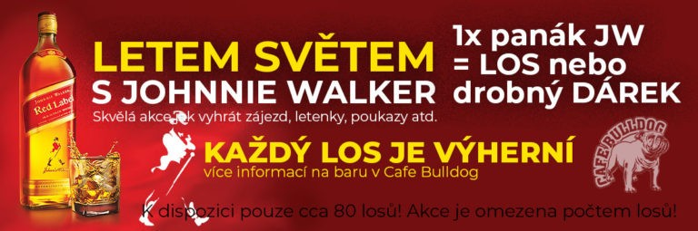 Cafe Bulldog Letem světel s Johnnie Walker