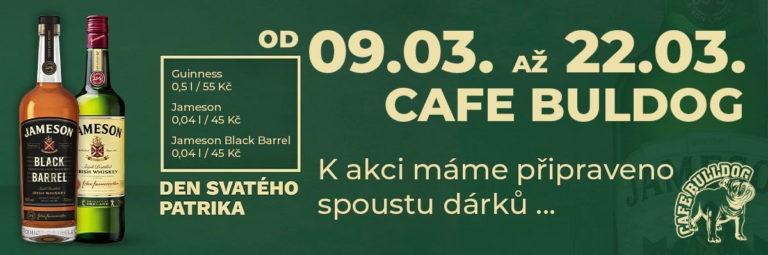 Jameson a Guinness | Speciální akce v kavárně Cafe Bulldog Břeclav