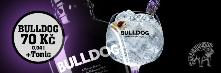 Cafe Bulldog - Gin Bulldog