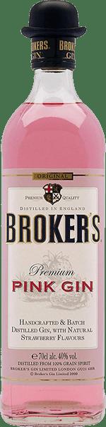 Broker's Pink Gin - Cafe Bulldog