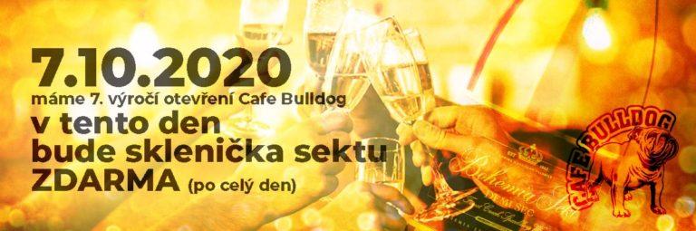 7. výročí otevření Cafe Bulldog